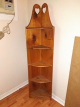 Five Shelf Country Corner Shelving Unit in Glendale Heights, Illinois
