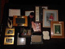 Eleven NEW Photo Frames Various Sizes & Designs! in Glendale Heights, Illinois