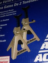 Pair of 2 Ton Jack Stands by ACDelco in Glendale Heights, Illinois