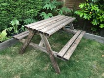Picnic Benches in Lakenheath, UK