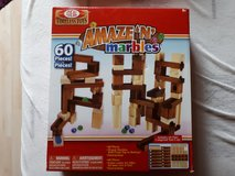 Marble maze wooden blocks set in Grafenwoehr, GE