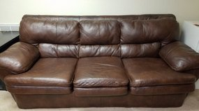 Ashley Furniture Leather couch in Fort Campbell, Kentucky
