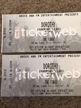 Two Tickets for Dorothy & Charming Liars 7/27/18 The Forge Joliet in Lockport, Illinois