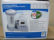 Krystal Clear Filter Pump 633T for Intex Pools w/ New Filter in Fort Campbell, Kentucky