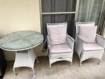patio set in Okinawa, Japan