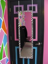 Jewelry Armoire Over The Door Mirror Cabinet in Fort Campbell, Kentucky