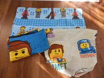 Lego Movie Twin Bed Sheet Set in Naperville, Illinois