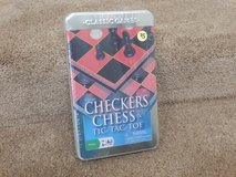 Brand New Checkers, Tic Tac Toe and Chess Games in Naperville, Illinois