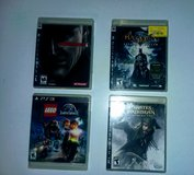 PS3 & PS4 GAME LOT in Fort Campbell, Kentucky