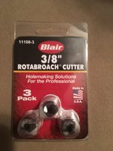 Rotabroach cutter 3/8 in Camp Lejeune, North Carolina