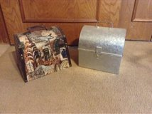 2 trunks/boxes in Lawton, Oklahoma