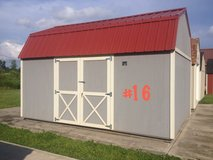 12x16 Lofted Barn Storage Building Shed RED TAG SPECIAL!! in Moody AFB, Georgia
