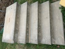 Concrete steps in Cleveland, Texas