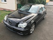 Reduceed! Black Mercedes C-220 CDI Avantgarde diesel Automatic,Gas Saver Car in Ansbach, Germany