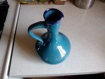 A VERY BEAUTIFUL HANDMADE BLUE VASE in Tinley Park, Illinois