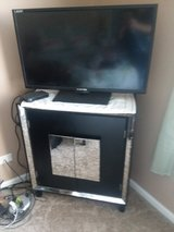 BLACK TV Console Cabinet in Morris, Illinois