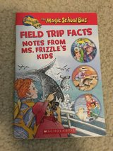 The Magic School Bus Field Trip Facts-Notes from Ms. Frizzle's Kids Book in Camp Lejeune, North Carolina