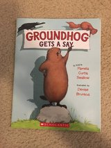 Groundhog Gets A Say book in Camp Lejeune, North Carolina