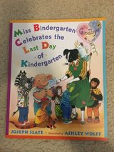 NEW Miss Bindergarten Celebrates the Last Day of Kindergarten book in Camp Lejeune, North Carolina