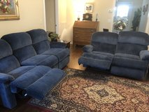 Edington Flexsteel Couch and Loveseat in Fort Campbell, Kentucky