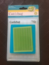 New!  Cuttlebug Embossing Folder - Herringbone in Bolingbrook, Illinois