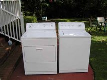 Washer and Dryer  Kenmore Set with 3 months Guarantee-Newer model NOT digital in Macon, Georgia