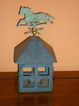 weather vane candle holder in Naperville, Illinois