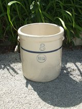 Blue Band Crock Stoneware Pottery 8 Gallon in St. Charles, Illinois