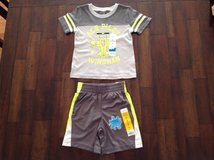 New with Tags Jumping Beans Toddler Boy 2 Piece Set: Short Sleeve Tee & Active Shorts size 2T in Palatine, Illinois