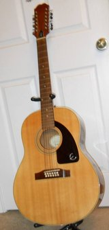 Vintage Ephiphone by Gibson 12 string Acoustic Guitar in Fort Polk, Louisiana