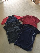 4 men's small athletic shirts in Lockport, Illinois