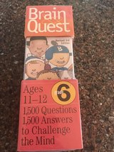 Brain Quest Ages 11-12 Grade 6 in Naperville, Illinois