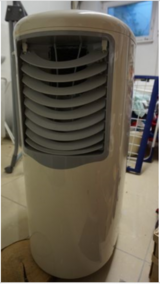 Portable air conditioner in Ramstein, Germany