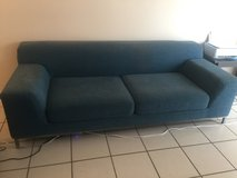 LAST CHANCE - Dark Teal Couch in Lakenheath, UK