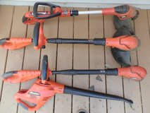 Black & Decker 18v Weed Trimmers & blower $30 all in Morris, Illinois