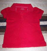 School Uniform Girl's Polo Shirt, Red in Alamogordo, New Mexico
