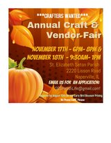 Crafters Wanted for Annual Craft Fair in Aurora, Illinois