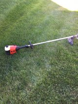 Craftsman straight shaft weed eater starts with starting fluid needs a little work in Chicago, Illinois