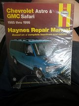 HAYNES REPAIR MANUAL 85-98 CHEVY GMC ASTRO in Sandwich, Illinois