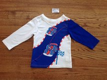 New The Children's Place Baby Toddler Boys Cotton Race Cars Graphic Tee, size 18-24 months in Schaumburg, Illinois