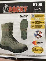Rocky S2V Sage Green Boots Reduced in Travis AFB, California