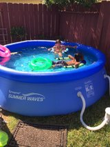 pool with pump in Fairfield, California