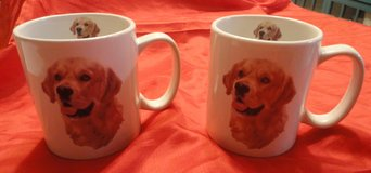 two new very large Golden Retriever tea/coffee cups in The Woodlands, Texas