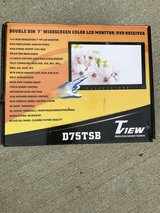 """Double Din 7"""" DVD Player(touch screen) in Fort Riley, Kansas"""