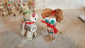 Reindeer or mouse ornaments in Fort Knox, Kentucky