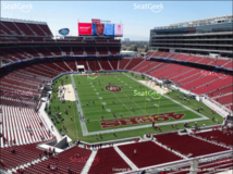 (3) 49ers vs Chargers ** Section 305** in Travis AFB, California