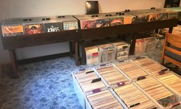 A collector who is buying vinyl records/albums/lp's, CD's, and cassettes. in Aurora, Illinois
