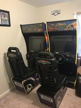 Dual Cruis'n World sit-down Arcade driving games in Quantico, Virginia