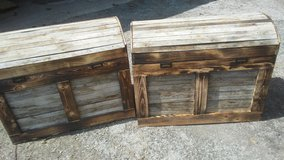 Custom Trunks 100+ year old wood in Naperville, Illinois