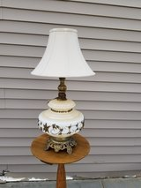 White with brass inlaid design / brass feet /bottom lights up in Fort Knox, Kentucky